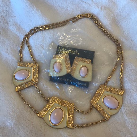 Monet Jewelry Necklace Earring Set Poshmark